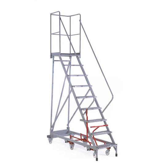 Picture of Fort Easy Steer Mobile Steps - 54 degree incline